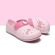 헬로키티 리프 논슬립실내화   핑크