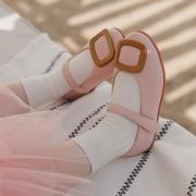 엔틱사각 | 핑크