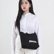 로고 2웨이백 미니 | 블랙