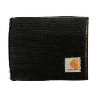 캔버스 패스케이스 지갑 | 블랙
