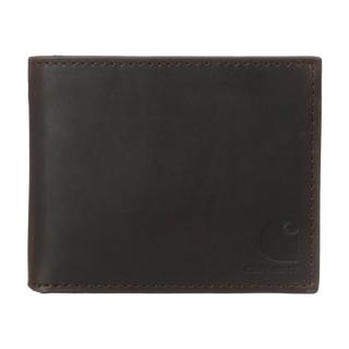 오일 탄 패스케이스 지갑 | 브라운