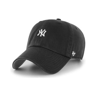 스몰로고 NY 양키스 클린업 | 블랙