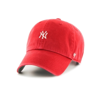 스몰로고 NY 양키스 클린업 | 레드