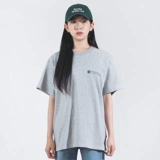 스퀘어 로고 티셔츠