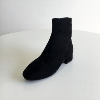 마르니 베이직 앵클부츠 5cm | 블랙스웨이드