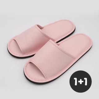 아날도바시니 점보레자 거실화(1+1)   핑크